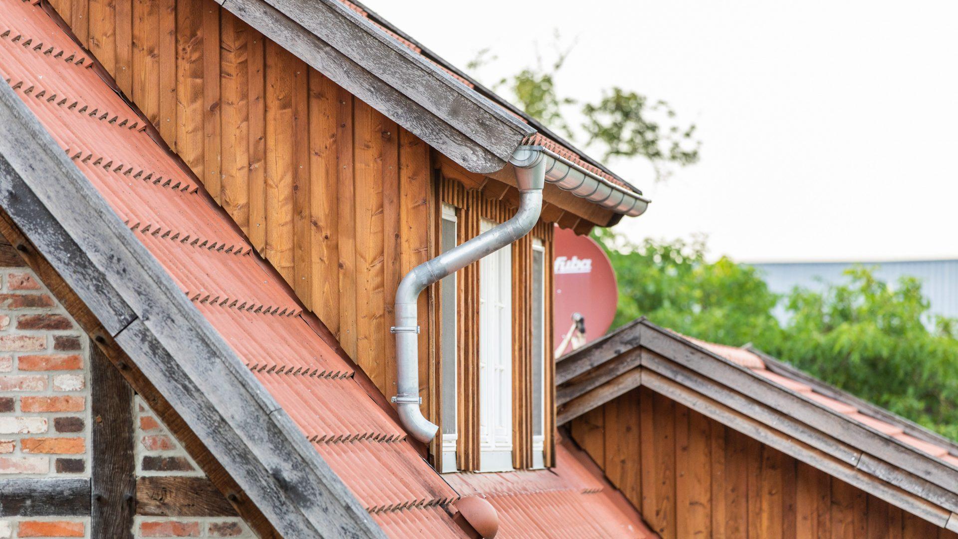Dachstühle, Erker und Dachgauben
